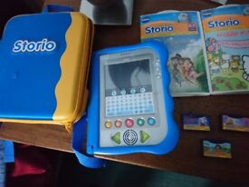 VTECH Storio and cartridges bundle