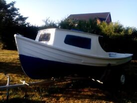 16ft Ornkey Boat, Engine and Trailer