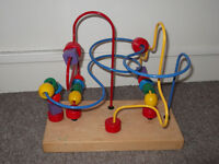 Toddlers Bead Maze rollercoaster