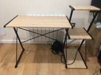 Desk with Shelfs