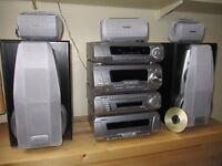 tenics hifi 5.1 surround sound separtes plays dvd mp3(cud deliver)
