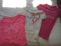 Hollister/gilly hicks t shirts