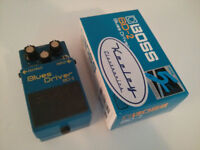 BOSS Blues Driver - with Keeley Mod