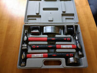 Panel Beater hammer set 7 pc AS NEW
