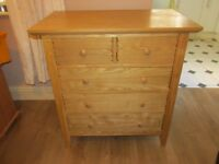 Beautiful Cabinet. Pine coloured. Been well looked after. Bargain.
