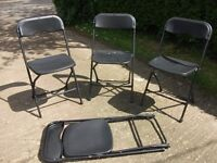 4 strong fold up chairs