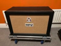 Orange PPC212 Guitar Cabinet Closed Back with Flight case