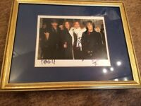The Darkness signed photo