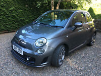 Immaculate and cherished Abarth 500 1.4 T-Jet 3dr