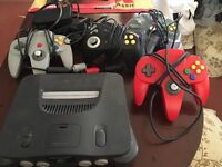 Nintendo 64 perfect condition 4 controllers!