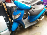 50cc PEUGEOT LOXOR SCOOTER