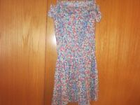 Girls Monsoon/Accessorize Floral Summer Dress Age 8-10 (new without tags)