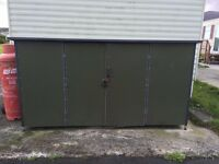 Aluminium Caravan Shed For Sale (Plastic coated)