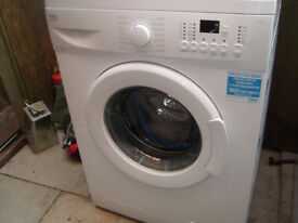 Beko Washing machine Wm84125w Used twice as new