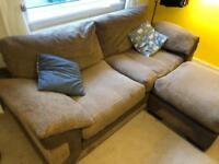 Sofa - large brown cord