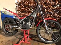 Beta evo 290 trials bike 2009