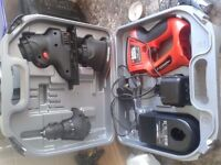 Black and decker quattro 3 in 1 drill, jigsaw, n sander immaculate condition