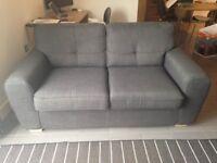 Sofa - like new - dark grey