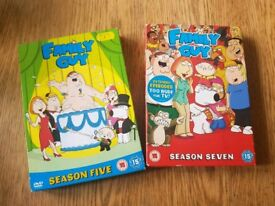 Family guy S5 and S7