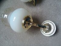Centre light fitting with separate wall lights