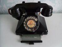 Vintage Bakelight Telephone 232L