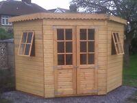 8x8 Corner summerhouse