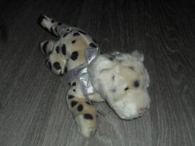 Dior plush leopard