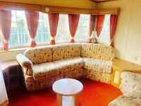 Cheap static caravan for sale with double glazing and gas central heating