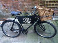Vintage Bicycle - totally restored