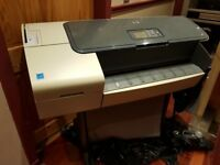 "HP T610 24"" Large Format Printer - for scrap and bits"
