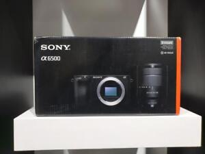 Store Sale - SONY ALPHA A6500 W/18-135MM LENS BLACK (Brand New In Box) Mode #ILCE6500MB