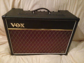 VOX AC15VR AMP Hybrid (value and solid state technology)