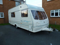 Avondale Dart 515/4 Touring 4 Berth Caravan. With Extras.