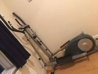 Carl Lewis Magnetic Elliptical with Body Fat measure cross trainer
