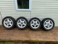 Alloys and tyres bmw