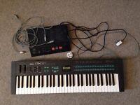 Yamaha DX21 Synthesizer + QX21 Midi Sequencer