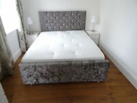 New 5ft Double bed and mattress