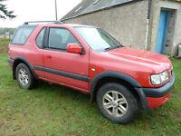 2003 Vauxhall Frontera 2.2 DTI sport 4 x 4 SWB Jeep