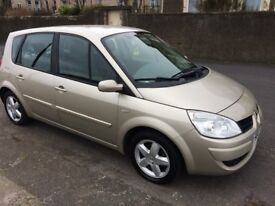 07 renault scenic dynamique 1.5 diesel.service records/cheap to run /warranty