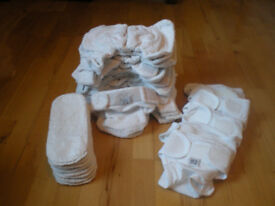 Lovely 15x Little lamb cotton size 1 nappies