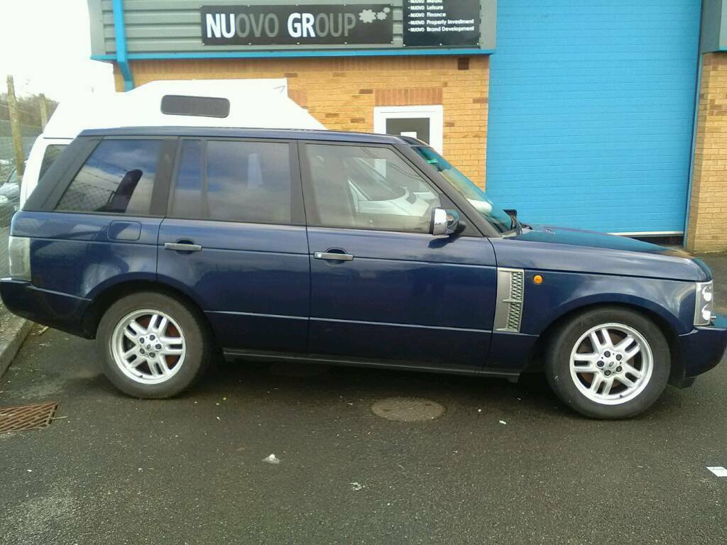 Range rover Vogue, L322, Breaking for parts 53/04 Breaking Range Rover L322