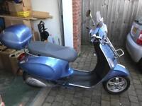 Vespa paggio moped