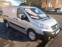 Fiat SCUDO LWB M-Jet 2.0 TD,1997 cc Panel van,twin side loading doors,light use only 66,000 miles