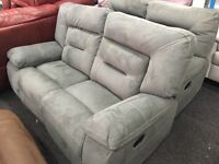 New / Ex Display LazyBoy Grey Recliner 2 + 2 Seater