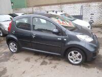 Peugeot 107 Millesim,5 door hatchback,1 previous owner,2 keys,FSH,Full MOT,£20 a year road tax