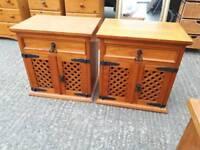 Bedside locker drawers unit