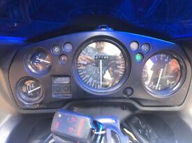Honda CBR 1100 xx Super Blackbird ('99 V Reg 47k) BLUE