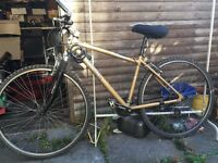 MOUNTAIN BIKE very good condition hardly used. need to go ASAP collection or delivery