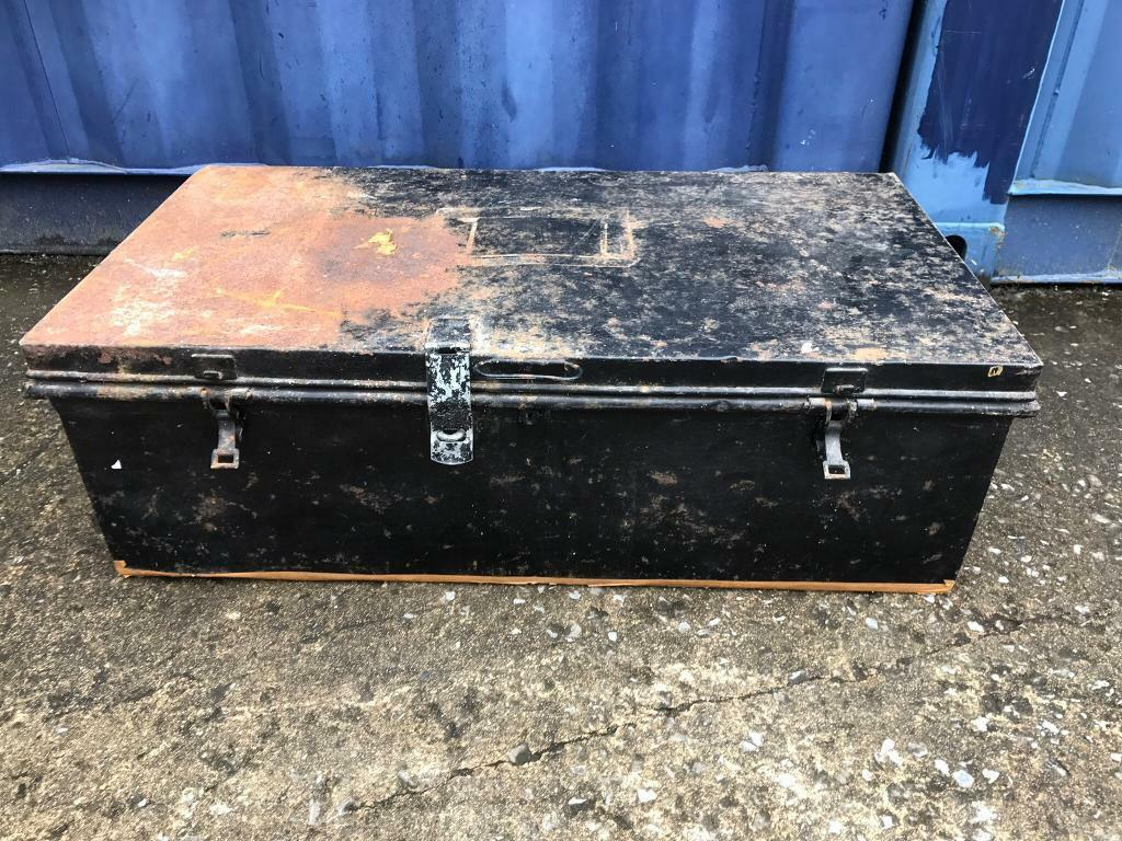 Metal trunk FREE DELIVERY PLYMOUTH AREA