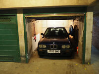 lock-up Garage 10 mins from Hammersmith Station